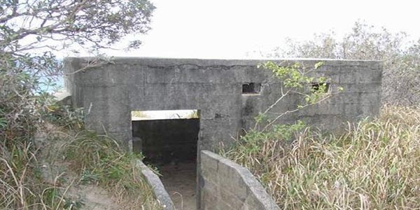 Rous Battery on Moreton Island