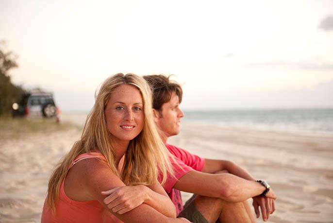 Moreton Island Camping - Beach Gall