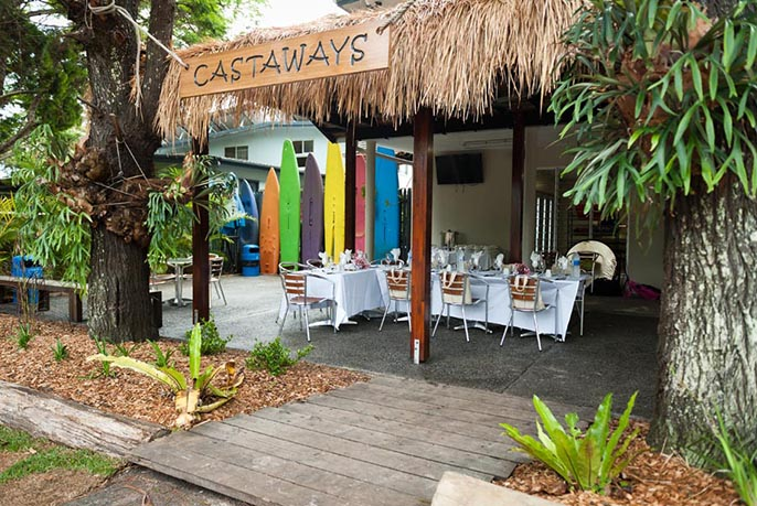 Castaways Store and Cafe at Bulwer on Moreton Island
