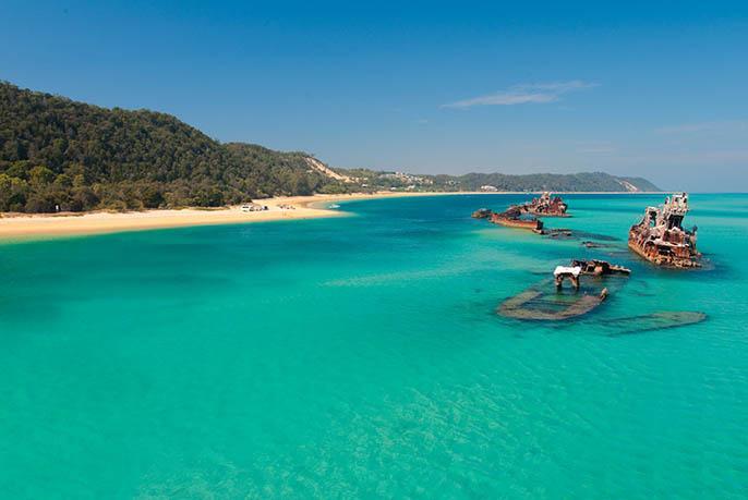 Moreton Island Snorkeling - 1