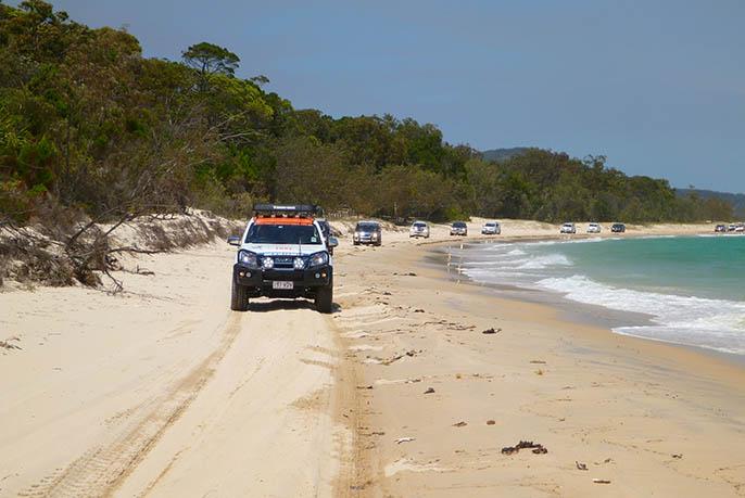 Moreton Island 4WD - Heaven on Four Wheels