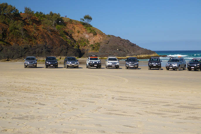 Moreton Island 4WD - ISUZU Group Gall