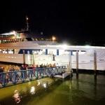 boarding micat at night