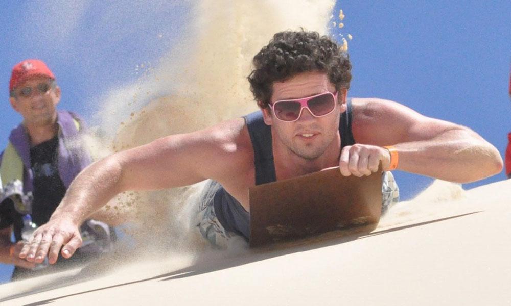 Moreton Island - Sand Boarding 1