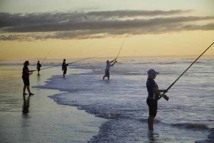 Moreton Island Fishing - Sunrise