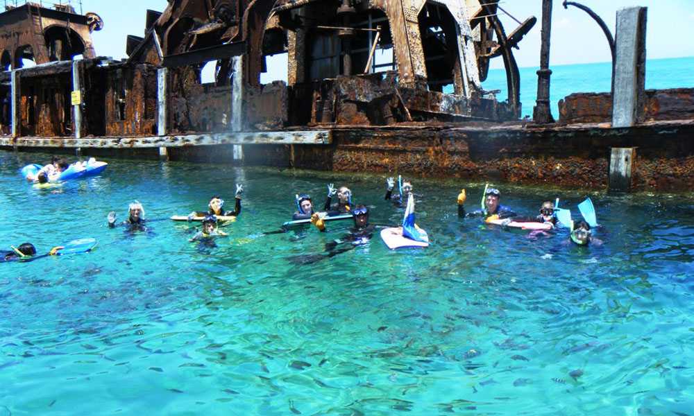 Moreton Island - Group Snorkeling