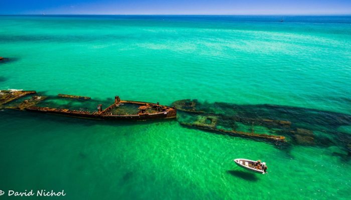 Brisbane Island Wrecks
