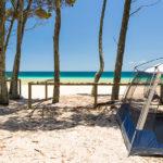 Camping on Moreton Island